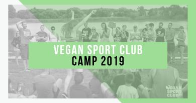 Vegan sport club Camp 2019