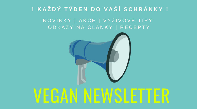 Vegan newsletter cover