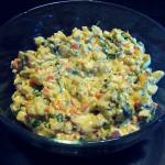 Vegan bramborový salát