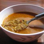 Polévka z hlívy á la dršťková