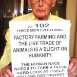 Ernie: ve 102 letech proti velkochovům