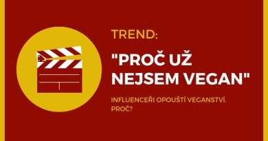 YouTube trend: už nejsem vegan