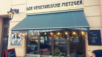 Vegetariánský řezník.