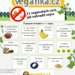 Infografika: 11 způsobů, jak nahradit vejce
